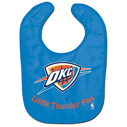 WinCraft NBA Oklahoma City Thunder WCRA2061514 All Pro Baby Bib