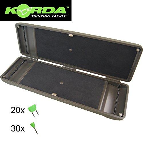 Korda Rig Safe - Box für Karpfenvorfächer, Tacklebox, Angelbox, Vorfach, Karpfenvorfach, Angeln auf Karpfen