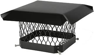 HY-C SCC1313 Shelter Bolt On Single Flue Chimney Cover, Mesh Size 5/8