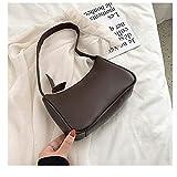 Ys-s Personalización de la Tienda Bolsas Retro de los Totes para Las Mujeres Voguish Vintage Handbag Distraff Pequeñas Bolsas subexilares Casual Retro Mini Bolso de Hombro
