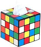 BLIENCE Boîte à mouchoirs carrée en cuir avec fond magnétique, distributeur de mouchoirs pour la maison, les toilettes, l'hôtel, la voiture et le salon