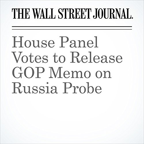 House Panel Votes to Release GOP Memo on Russia Probe copertina