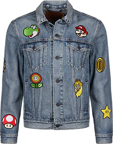Levis x Super Mario Vintage Fit Trucker Super Mario Gang L