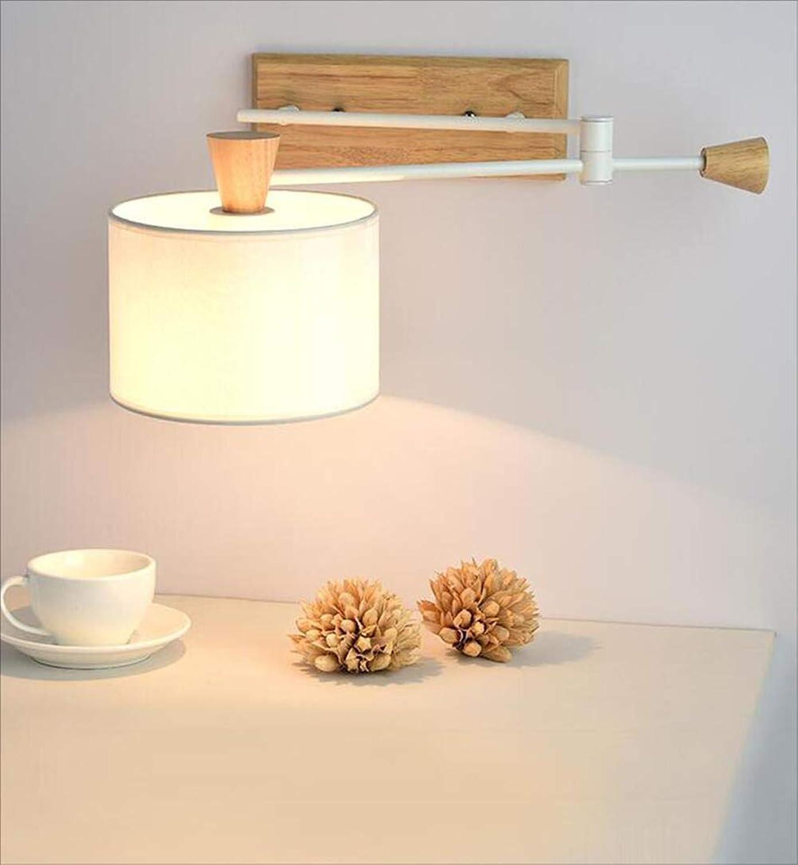 MOOMDDY Tischleuchte Wandlampe, Schlafzimmer-Nachttischlampe, Innenwandleuchte-Glühlampe, energiesparendes LED-Licht, dekorative Beleuchtung des Treppenflurs,C