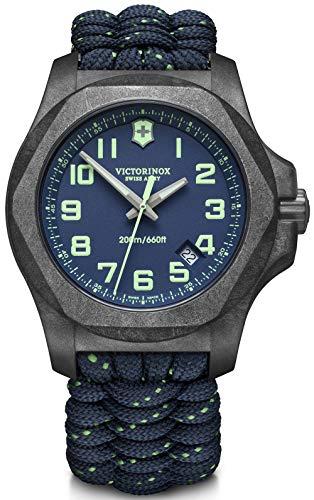 Victorinox INOX Herren Uhr analog Quarzwerk mit Armband V241860