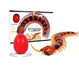 Greatstar 2018 Upgrade Pranks Remote Control Centipede,Creative Funny Infrared RC Centipede is One Best Gift of Halloween&Christmas for Kids&Children