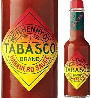 TABASCO Pepper Sauce (Habanero, 5 Ounce)