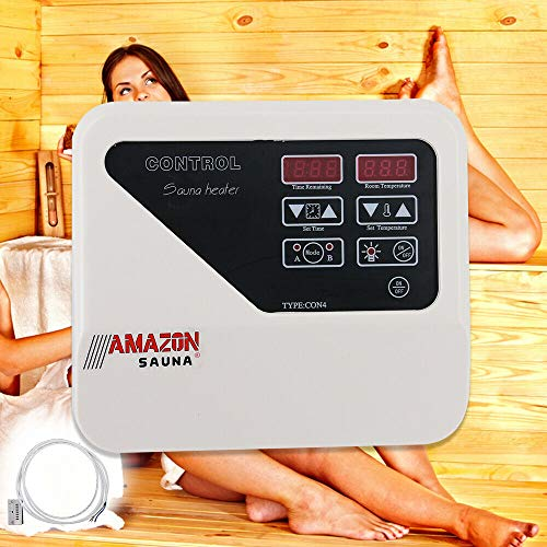 Neu Sauna External Controller Saunasteuerung Saunasteuergerät 3-9KW 2Arbeitsmodi