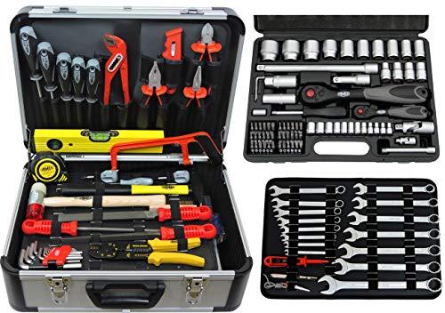 Famex 723-47 - Maletín de herramientas para mecánicos (130/170 piezas)