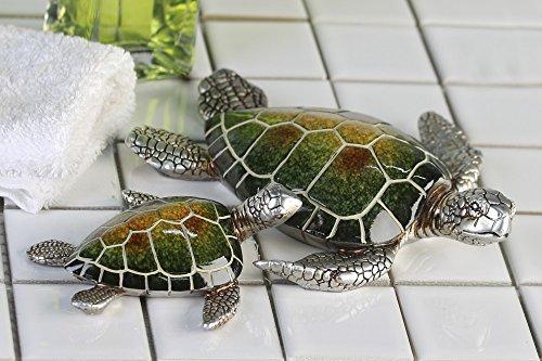 deccaro Schildkröte Josie, grün, 2er Set