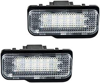 Wildlead 2/pcs Pas derreur LED Lumi/ère de Plaque dimmatriculation pour Mercedes Benz W203/W211/W219/SLK CLS C21