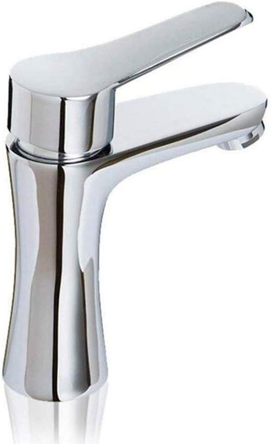 Faucet Lead-Free Square Innovationfaucet Hot and Cold Single Hole Faucet Silver Kitchen Sink Filter Faucet