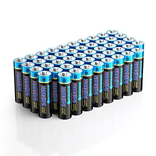 HAOHIYO AA Battery Alkaline AA Batteries for Household and Business (48-Pack)