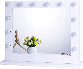vanity table lighted mirror