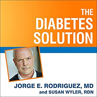 The Diabetes Solution audiobook cover art
