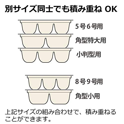 リッチェル 保存 容器 作り置き つくりおき 冷凍 パック アイボリー 3カップ(8号9号用) 2セット入 4945680300254
