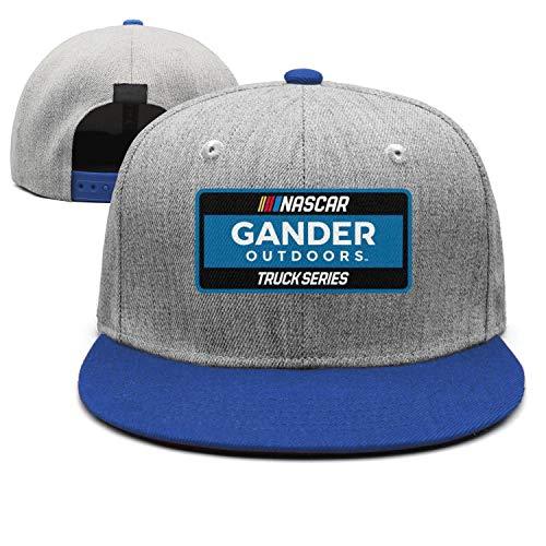 Gander-Outdoors Unisex Mens Camo Flat-Brimmed Hat Rugged Rock Cap