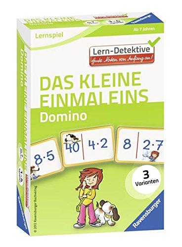 Ravensburger Buchverlag 41494 Das kleine Einmaleins Domino. (Lern-Detektive. Gute Noten von Anfang an)