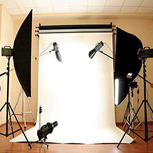 Qingsb 92cm * 152cm / 3 * 5ft witte muur fotografie achtergrond doek Studio Photocallprivé Ins foto achtergrond fotofoon Camera