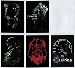 Star Wars Rogue One Series 1 Darth Vader Continuity 5 Card Chase Set #6 to #10