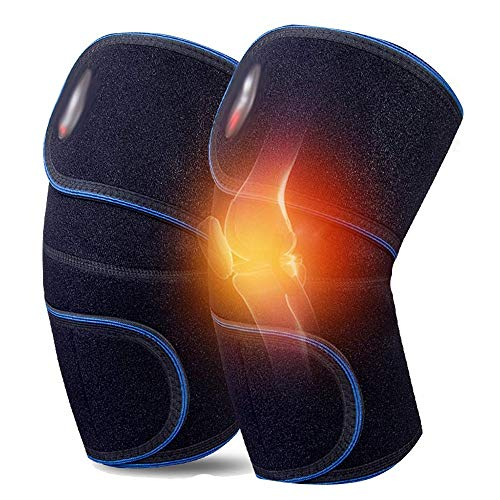 Artefakt Toermalijn zelfstervende knieorthese, thuis fysiotherapie rode dot kniebeschermers mannen en vrouwen warme knieën oudere gewrichtsbescherming