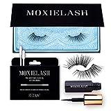 MoxieLash Magnetic Eyelashes with Eyeliner Kit - Baby Kit - Natural Looking False Eyelashes - Set of Baby Lashes + Magnetic Eyeliner + Eyeliner Remover Swabs - USA Owned - No Glue