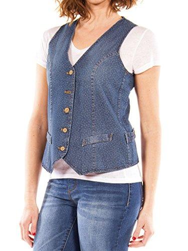 Carrera Jeans - Jeansweste 490 für Frau, Slim fit, ärmelloses