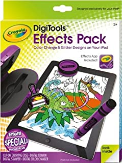 Crayola DigiTools Glitter Color Change Effects Creativity Pack