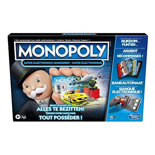 Hasbro, Monopoly Super Electronic Banking (versione in lingua italiana non garantita)