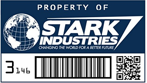 Asset Tag - Property of Stark Industries