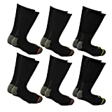 i-Smalls Herren 12 Paar Packung Arbeit Socken Extra Stark mit Verstärkten Fersen & Zehensocken EUR 36-46