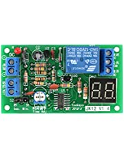 DC12V Adjustable Relay, Relay Timing Module, Adjustable Time Switch Module, Digital LCD Display Countdown Timer