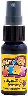 Pure Kidz Kids Vitamin C Spray, Grape, 1 Ounce