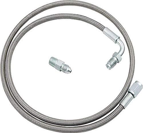 "Allstar-46100 3 48"" Clutch Line Kit-Chrome & Grey"