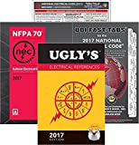 National Electrical Code NEC Paperback by NFPA, Fast Tabs, Quick Card and Ugly's Electrical References 2017 Editions