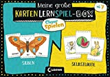 Loewe Clever Spielen - Meine große KartenLernSpiel-Box - Silben/Selbstlaute: Kartenspiel zum Lesenlernen für Kinder ab 7 Jahre /Silbe 33 Spielkarten / Selbstlaute 46 Spielkarten