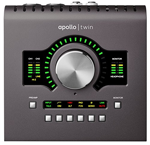 Apollo Twin MKII Duo Scheda Audio Thunderbolt