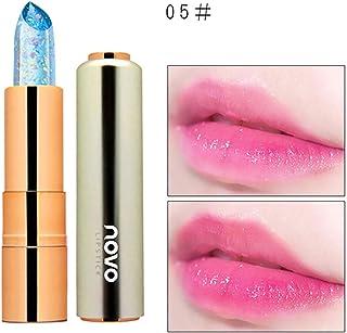 Barra de labios Crystal Jelly de 1PC Brillo labial de ingredientes naturales Brillo de labios hidratante Bálsamo labial de...