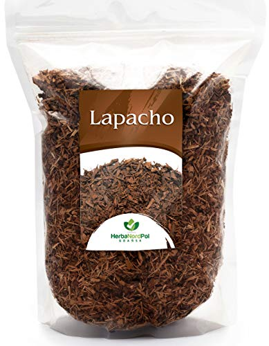 Thé HerbaNordPol Lapacho | en provenance du Paraguay | Taheebo | PAU d'Arco | 1kg | 3-4mm Idéal pour Infusion