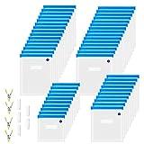 ZEROLISM Sous Vide Bags 50 Vacuum Sealer Reusable BPA Free Food Bags 4...