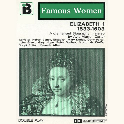 Elizabeth I, 1533-1603 audiobook cover art