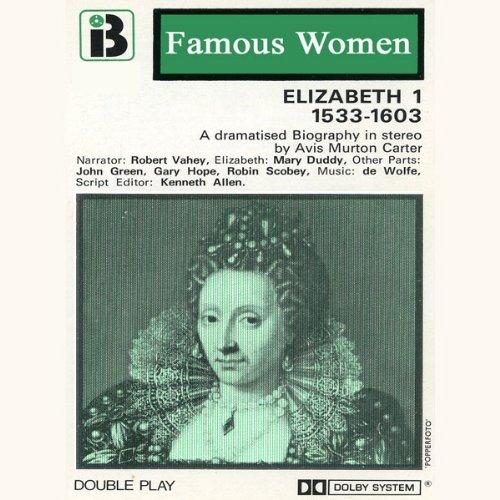 Couverture de Elizabeth I, 1533-1603