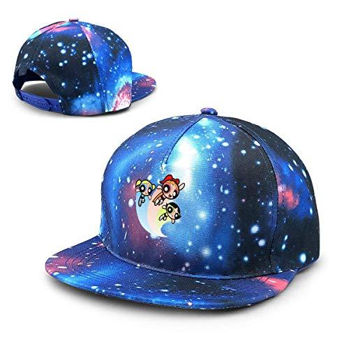The Powerpuff Girls Starry Sky Hat Baseball Cap Sports Cap Adult Trucker Hat Mesh Cap