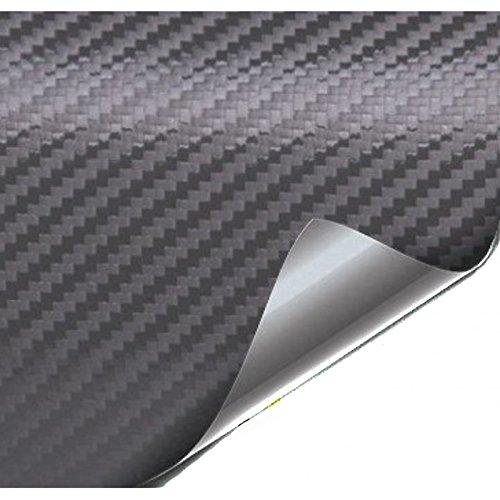 WrapWorkers Series Vinilo Fibra Carbono Antracita - 200x152cm (Techo Completo)