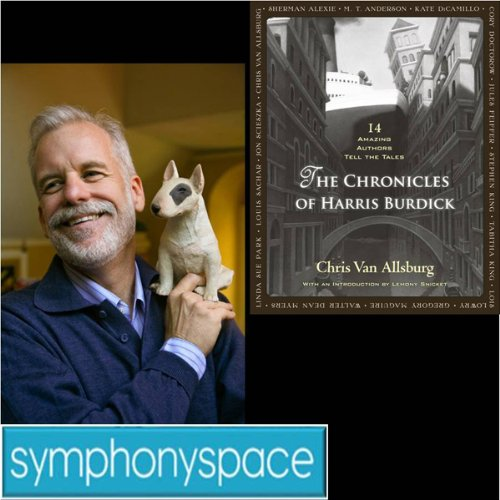 Thalia Kids' Book Club: Chris Van Allsburg's The Chronicles of Harris Burdick audiobook cover art