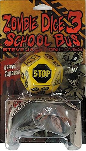 Steve Jackson Games–332139–Zombie Dice 3–School Bus