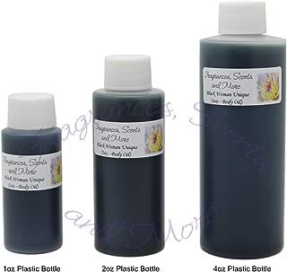 Black Woman Unique Perfume/Body Oil (7 Sizes) - Free Shipping (1 Bottle 1/3oz Roll On (10ml))
