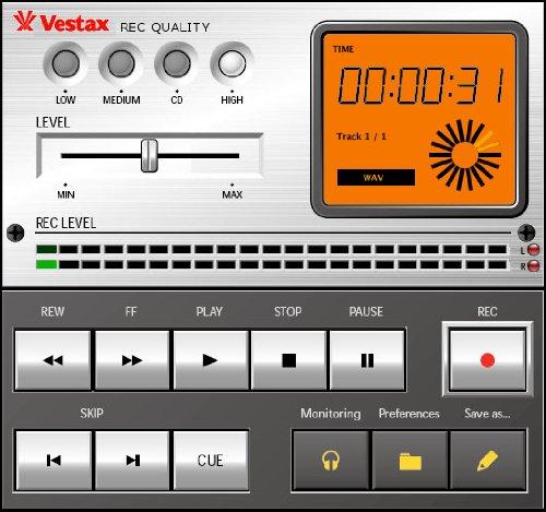 Vestax Handy Trax USB Portable Turntable w/ USB