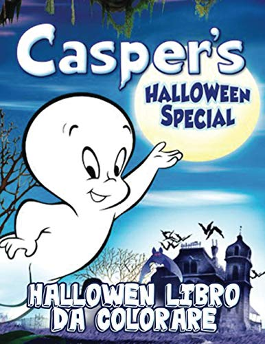 Casper's hallowen libro da colorare