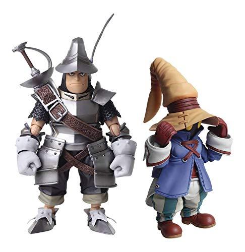 Square Enix Final Fantasy IX: Vivi & Steiner Bring Arts Action Figure Set